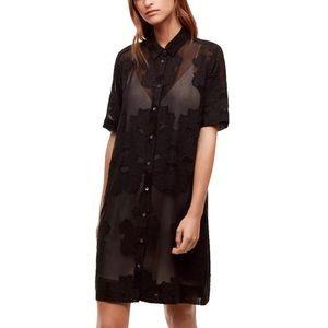 Dresses & Skirts - Wilfred Hemistiche button up shift dress